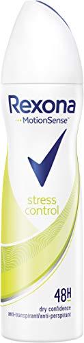Rexona - Desodorante en spray antitranspirante, 150 ml