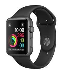 Apple Watch Series 2 42MM Space Grey with Black Sports Band (MP062HN/A)
