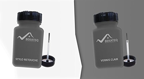 2x50ml stylo de retouche pour nissan qab blanc lunaire m laque color vernis bekateq peinture. Black Bedroom Furniture Sets. Home Design Ideas