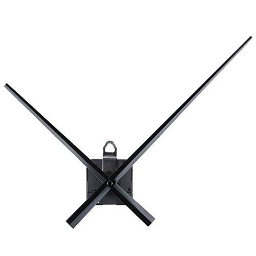 Orologio ad Alta Coppia Movimento con 20 mm/ 0.8 Pollici Lunghezza dell'Albero Lungo a Mani 243 mm/ 9.6 Pollici per Fai Da Te Orologio da Parete