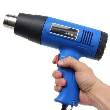 OTOVON® 1500 W 220V Heat Gun Cum Hot Air Blower with Dual Temperature Control (Random Colour)