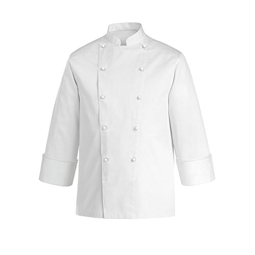 JOBLINE Giacca Cuoco Job col. Bianco TG. 4XL Cotone