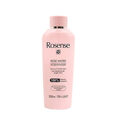 Rosense Rosenwasser 100{7b11d2f66c0f41ed9e2fa00354af50faa5c97b5a35e4eba1462f4502f5a9abde} natürlich vegan, 1er Pack (1 x 300 ml)