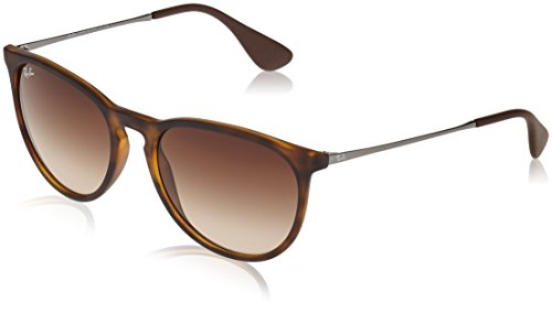 Ray-Ban Gafas de sol, Habana/Gunmetal (Tortoise/Gunmetal) (865/13), con lente Marrón Degradada (Brown Gradient)