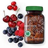 Les aliments essentiels entiers Bio-Vitamines et minéraux - 26 superaliments biologiques Fruits et légumes pour une alimentation équilibrée + Enzymes digestives - végétalien (30 jours)