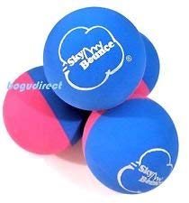 Sky Bounce Color Rubber Handballs for Recreational Handball Stickball Racquetball Catch Fetch and Many More Games 2 1/4-Inch (Blue/Pink 12 Count63614 2.00)