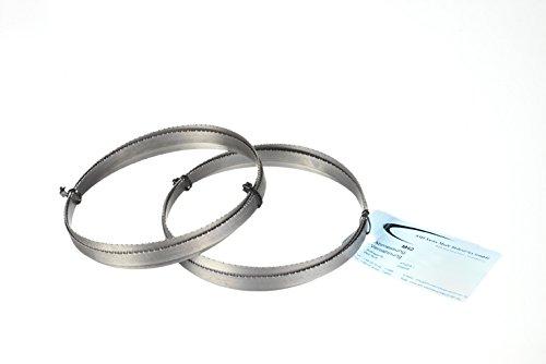 Conjunto de 2 de metal sierra de cinta Bi-Metal para M 42 dimensiones 1470 x 13 x 0,65 mm 10/14 ZpZ para Optimum, Bernardo
