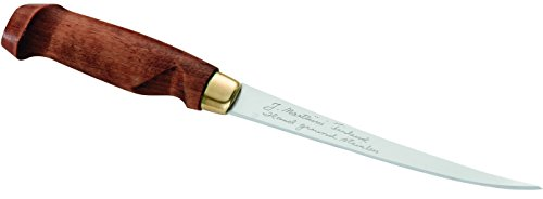 Marttiini 901315 - Coltello Finlandese Per Sfilettare, Lunghezza Lama: 15,5 Cm, Manico In Legno Di...
