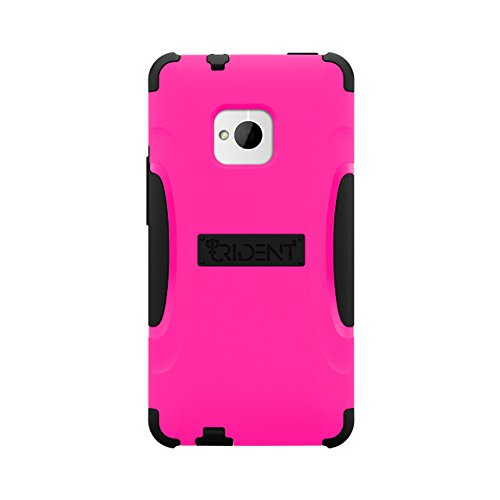 Trident Case AEGIS Series Protective for HTC One - Retail Packaging - Pink