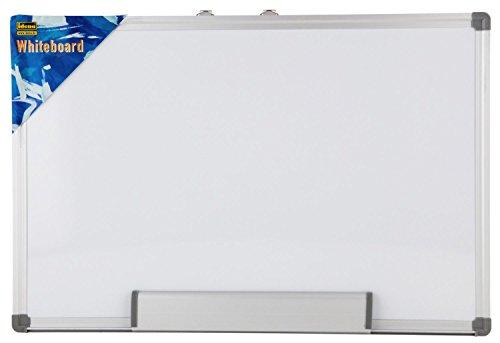 Idena 568024 - Lavagna magnetica da parete, cornice in alluminio, alloggiamento pennarello incluso,...