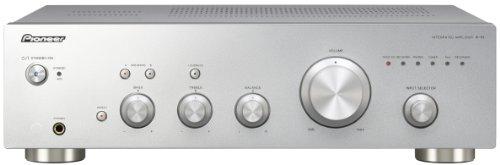 Pioneer A-10-S Amplificatore stereo da 50W con design Direct Energy - Argento/Silver