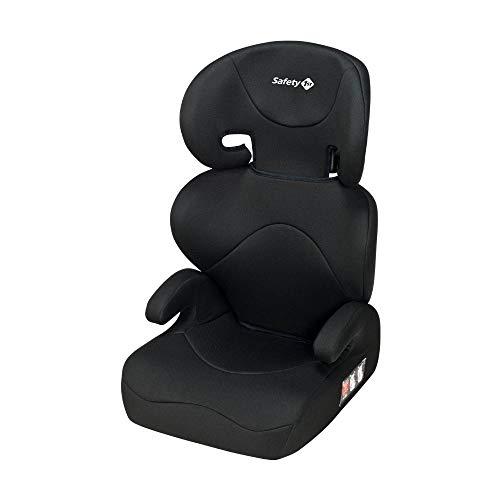 Safety 1St Road Safe Seggiolino Auto 15-36 kg, Gruppo 2/3, Per Bambini da 3.5 a 12 Anni, Reclinabile e Facile da Installare, Nero