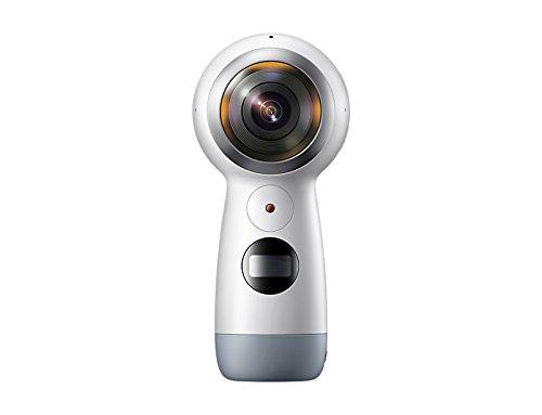 Samsung GEAR 360 2017 Videocamera a 360°, Risoluzione 4K, Espandibile fino a 256 GB [Versione Italiana]