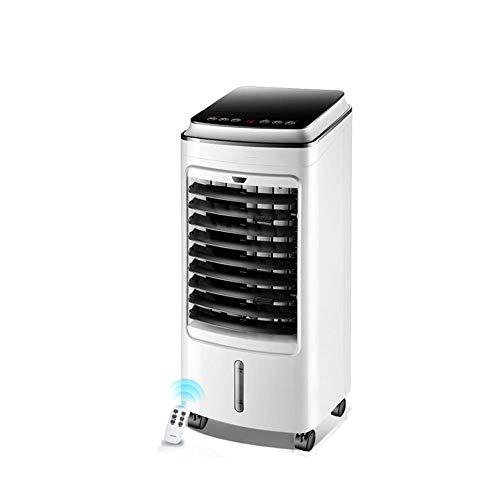 Refrigerador de aire conveniente Aire acondicionado evaporativo portátil Torre Refrigerador de aire frío Ventilador Aire acondicionado móvil Control remoto Sincronización Seguridad Ahorro de energía B
