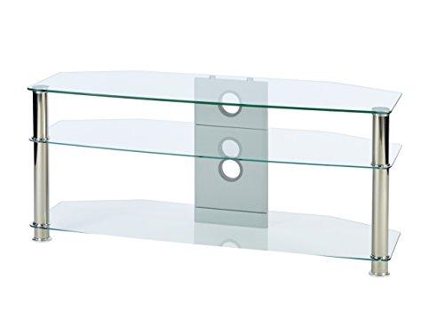 MMT Furniture Designs CL1150 base da pavimento per tv a schermo piatto Supporto fisso da pavimento a...
