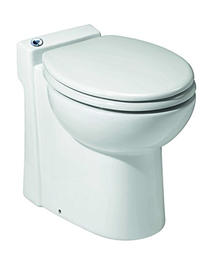 SFA SANICOMPACT 54 WC Cuvette céramique avec broyeur intégré/siphon