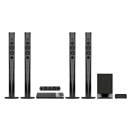 Sony BDV-N9200W Sistema Home Theater, 5.1 Canali, 1200 W, Audio Hi-Res, Nero