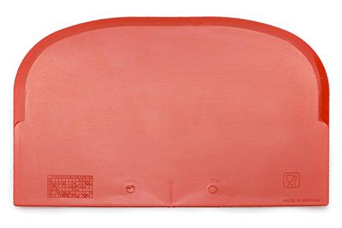 Teigschaber mit Schabekante Backen wie die Profis ideal als Teigkratzer oder Teigteiler sehr robust & belastbar (5 Stück)