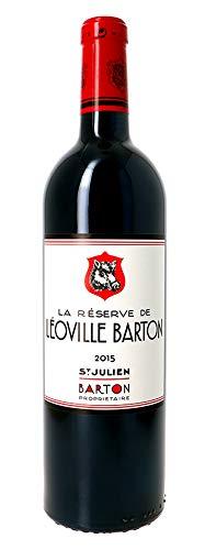 X1 Château Léoville Barton 2015 75 cl AOC Saint-Julien Rouge Vin Rouge