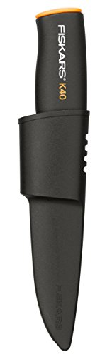 Fiskars Universalmesser, Schwarz, Länge: 21cm