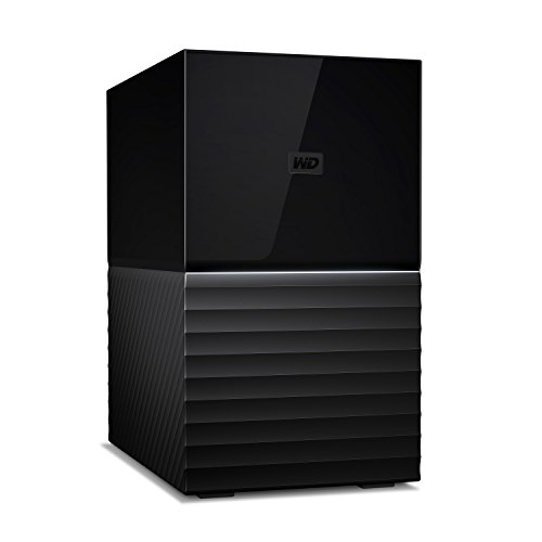Western Digital 20 TB My Book, Hard Disk Desktop USB 3.1, 2 Dischi, RAID, Software di Backup...