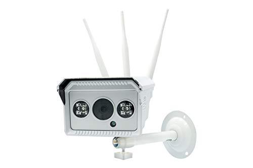 BES 24866 Telecamera Ip con Sim 4G, 2 LED Array Wireless, Ip66, Micro Sd