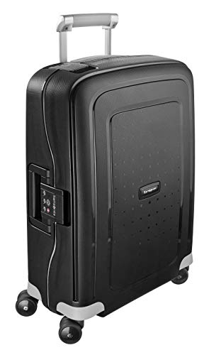 Samsonite S'Cure Valigia Spinner 55 cm, 34 liters, Nero (Black)