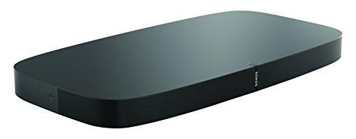 Sonos Playbase WLAN Soundbase, schwarz - Fernsehlautsprecher mit kraftvollem Sound für Heimkino & Musikstreaming - Erweiterbarer WLAN Speaker mit Airplay