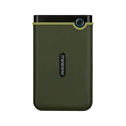 Transcend TS1TSJ25M3G StoreJet25M3G Hard Drive Rugged Esterno 2.5', micro USB a USB Type A, Verde...