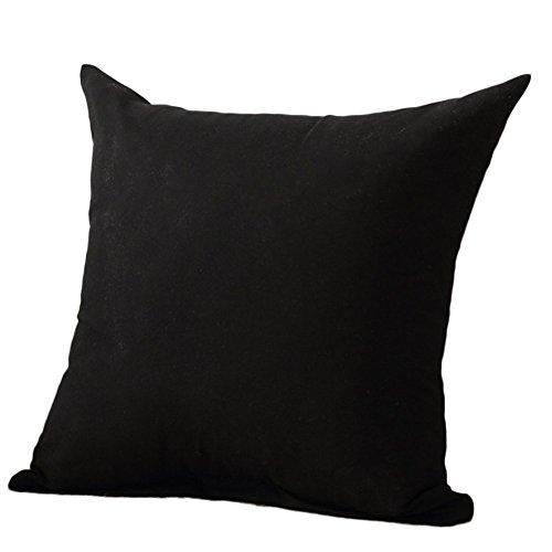 TREESTAR Federa di Tinta Unita Semplice Cuscino Cover Pillowcase Decorazione del Cuscino Federa Cuscino Letto Cuscino Caso Divano per Sofa Home Casa Auto Automotive Ufficio,45 * 45Cm,1Pcs