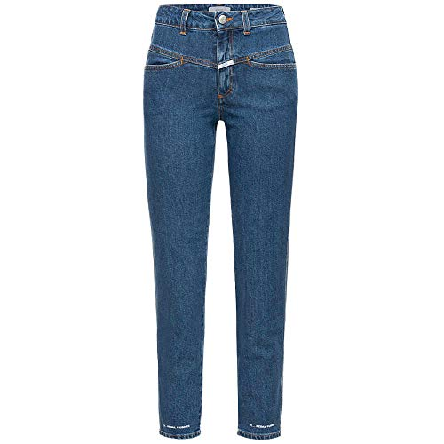 Closed Jeans Pedal Pusher HIGH Waist 38 dunkelblau