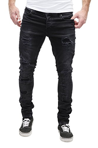 MERISH Herren Jeanshose Denim Chino