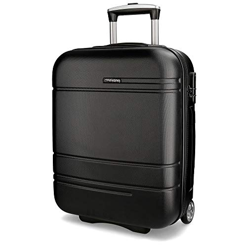 Movom Galaxy Black Rigid Cabin Trolley 2 Wheels