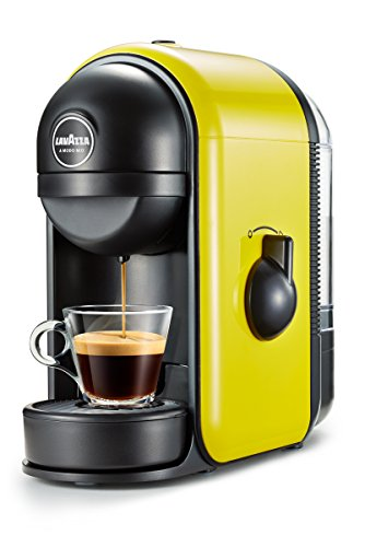 Lavazza Minù Independiente Máquina de café en cápsulas 0,5 L Manual - Cafetera (Independiente, Máquina de café en cápsulas, 0,5 L, Cápsula de café, 1250 W, Amarillo)