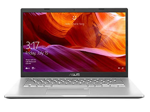 ASUS VivoBook 14 X409FA-EK555T Intel Core i5 8th Gen 14-inch FHD Thin and Light Laptop (8GB RAM/512GB NVMe SSD/Windows 10/Integrated Graphics/1.6 kg), Transparent Silver