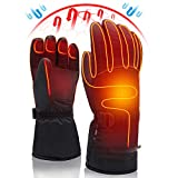 Svpro Beheizte Handschuhe Wiederaufladbare batteriebetriebene,beheizte Handschuhe Männer Frauen Elektrische Thermohandschuhe Winter Warm Beheizter Handwärmer