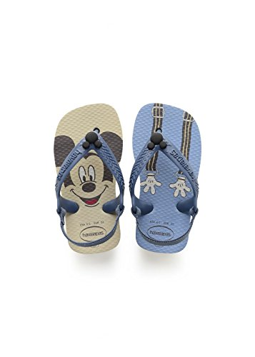 Havaianas Baby Disney Classics II, Infradito Unisex Bimbo, (Beige), 24 EU