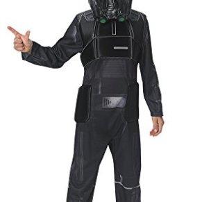 Star Wars Rogue One - Disfraz de Death Trooper para niños, infantil 9-10 años (Rubie's 630508-XL)