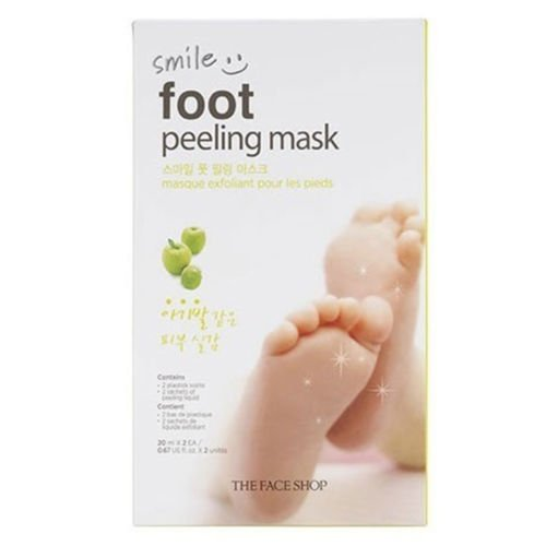 The Face Shop Unisex The Face Shop Smile Foot Peeling Mask, 20ml