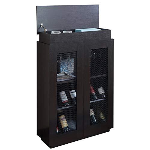 OTTMAR, mobiletto portabottiglie di Vino, Ideale per Cantine e Aree refrigerate, per Gli Amanti del...