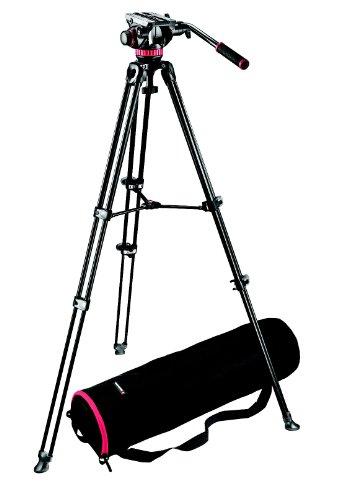 Manfrotto Video Set inkl. MVH502A Neiger, MVT502AM Stativ und Tasche