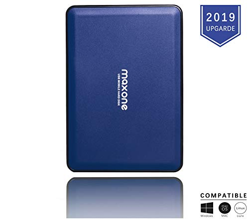 Hard Disk Esterno 160GB-2,5pollici UltraSottili HDD da USB 3.0 Portatili per TV, PC, Mac, MacBook,...