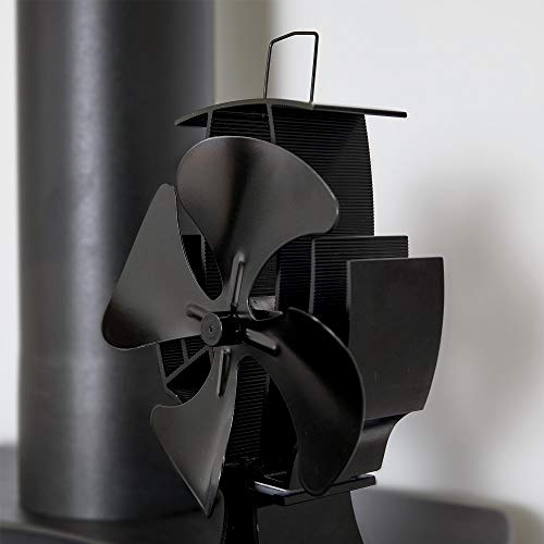 The VonHaus 4 Blade Stove Fan is an affordable model designed to eco-friendly and efficient, its looks nearly identical to our best pick by Valiant and its good, its just not quite as good in terms of features, no overheating feature for example, the build quality is also probably not on par either.