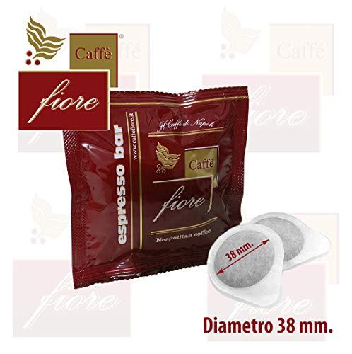 30 Cialde Caffè fiore XP 38 mm. di diametro miscela Espresso Bar Intensa e Cremosa classica Napoletana