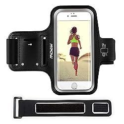Kaufen Mpow Handy Sportarmband iPhone, Handy Armtasche, Oberarmtasche, Schlüsselhalter, Verlängerungsband, Sportarmband für Training, Jogging, Radfahren, Wandern, sportarmband Handy für iPhone X/8/7/6/6s, Samsung Galaxy S7, bis zu 5,1 Zoll