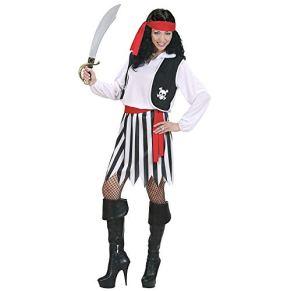 Desconocido Disfraz de mujer pirata , color/modelo surtido