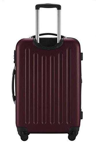 HAUPTSTADTKOFFER® Hartschalen Kofferset SPREE 1203 · MATT · TSA · + DESIGN KOFFERANHÄNGER -