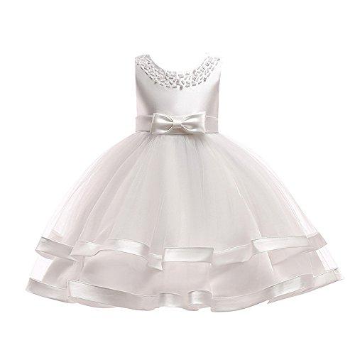 Elecenty Vestito Ragazze Principessa Performance Tutu Dress Abiti 1~7 anni