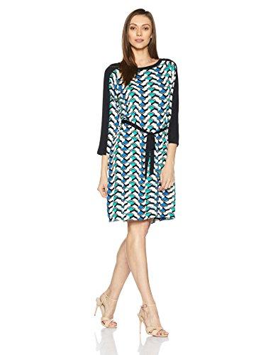 Juniper Women's Tunic Long Sleeve Top (5111_Green_S)