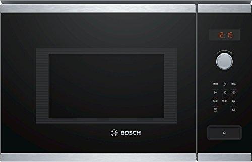 Bosch Serie 4 BFL553MS0 Incasso Microonde combinato 25L 900W Nero, Acciaio inossidabile forno a...